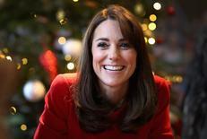 Princesa Kate, esposa do príncipe William, da Grã-Bretanha, durante evento em Londres.   15/12/2015    REUTERS/Chris Jackson/Pool/