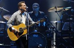 Glenn Frey of the rock group 'The Eagles' performs at a concert in honour of Monaco's Prince Albert II and his fiancee Charlene Wittstock at the Stade Louis II stadium in Monaco June 30, 2011.     REUTERS/Benoit Tessier
