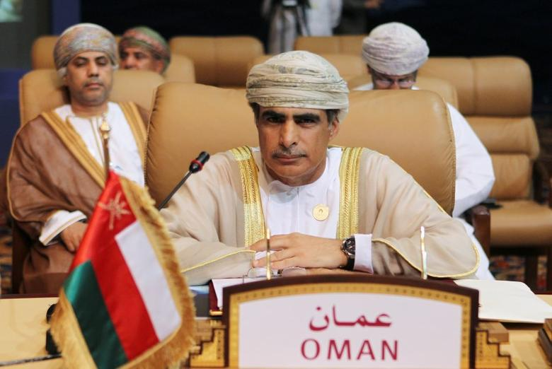 Oman's Oil Minister Mohammad bin Hamad bin Saif al-Rumhi attends during the opening session of the first Gas Exporting Countries Forum (GECF) summit in Doha November 15, 2011. REUTERS/Mohammed Dabbous