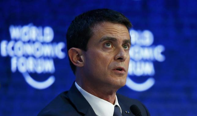 French Prime Minister Manuel Valls attends the session 'The Future of Europe' at the annual meeting of the World Economic Forum (WEF) in Davos, Switzerland January 21, 2016. REUTERS/Ruben Sprich