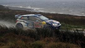 Rallying - Wales Rally GB - FIA World Rally Championship - Wales - 15/11/15 France's Sebastien Ogier and France's Julien Ingrassia of Volkswagen Motorsport during SS19 at Brenig. Mandatory Credit: Action Images / Peter Cziborra