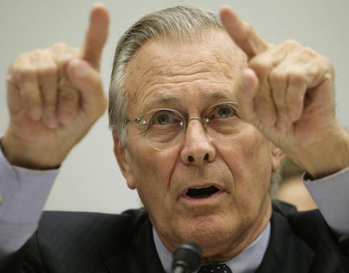 Rumsfeld: From politician to gamer