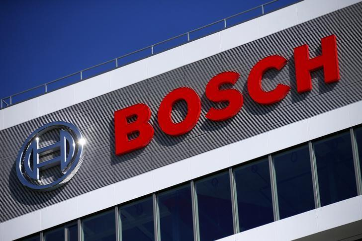 A BOSCH building is pictured at the company's new research and advance development centre Campus Renningen during a guided media tour in Renningen, Germany September 30, 2015.   REUTERS/Ralph Orlowski