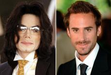 Michael Jackson and Joseph Fiennes in a combination image.     REUTERS/Files