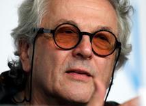 """Foto de archivo del director de cine Goerge Miller, durante una conferencia de prensa por su película """"Mad Max: Fury Road"""", en el 68° Festival de Cine de Cannes, en Cannes, Francia, 14 de mayo de 2015. El director australiano George Miller presidirá el 69º Festival de Cine de Cannes, dijeron los organizadores el martes. REUTERS/Eric Gaillard"""