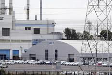 La planta manufacturera de Volkswagen en Puebla, México, sep 21, 2015. La producción y exportación de automóviles de México, una de las principales industrias del país, subieron en enero frente al mismo mes del año pasado, reportó el lunes la Asociación Mexicana de la Industria Automotriz (AMIA).  REUTERS/Imelda Medina