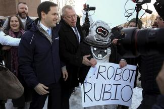 Rubio's week since Iowa