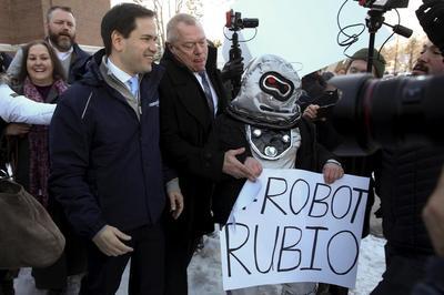 Rubio's week since Iowa