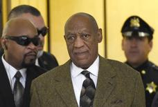 Actor Bill Cosby (2nd R) arrives for hearing on at Montgomery County Courthouse in Norristown, Pennsylvania February 2, 2016.  REUTERS/Clem Murray/Pool