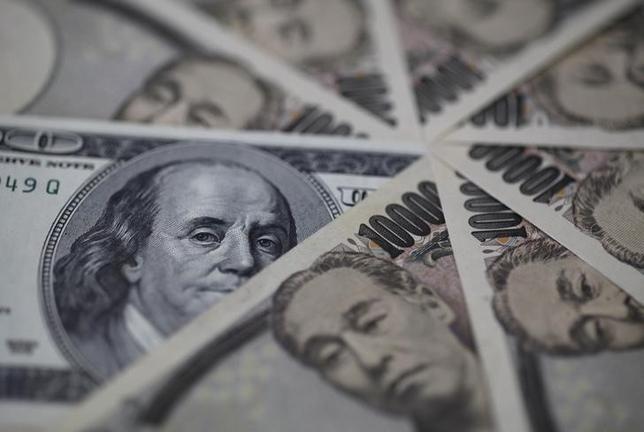 2月11日、欧州外為市場で、円が対ドルで2%上昇し、15カ月ぶり高値を更新した。2013年2月撮影(2016年 ロイター/Shohei Miyano)