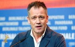 Director Michael Grandage attends a news conference to promote the movie 'Genius' at the 66th Berlinale International Film Festival in Berlin, Germany February 16, 2016.    REUTERS/Hannibal Hansche