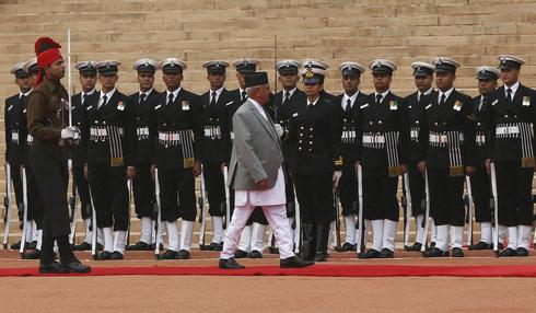 Nepal prime minister visits India