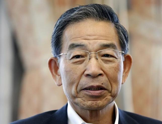 2月23日、JPXの清田瞭・CEOはの定例会見で、日銀のマイナス金利政策の効果は時間をかけて見守る必要があると述べた。写真は都内で2013年7月撮影(2016年 ロイター/Toru Hanai)