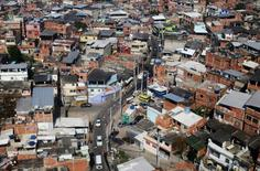 A favela is pictured in Rio De Janeiro June 28, 2014. REUTERS/Alessandro Garofalo