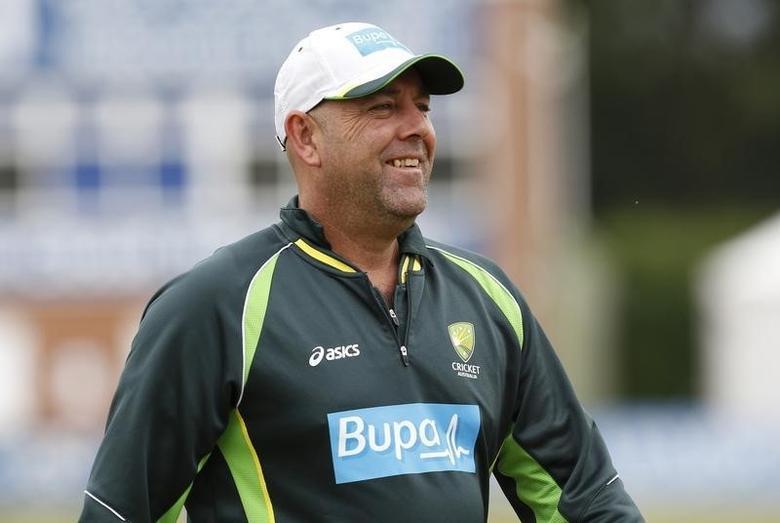 Cricket - Australia Nets  - 3aaa County Ground, Derby - 22/7/15Australia coach Darren Lehmann during trainingAction Images via Reuters / Craig Brough