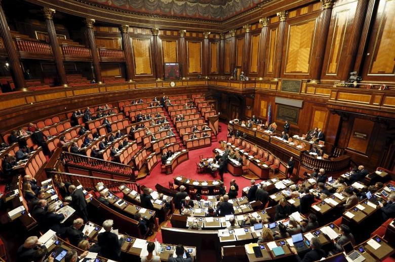 A general view shows the Italian Senate in Rome, January 28, 2016.   REUTERS/Remo Casilli