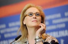 Actress Meryl Streep, President of the international jury for the 66th Berlinale International Film Festival, attends a news conference in Berlin February 11, 2016.   REUTERS/Stefanie Loos