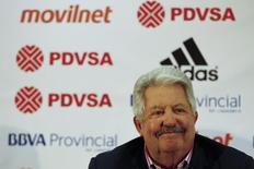 Rafael Esquivel concede entrevista em Caracas. 10/5/2012.  REUTERS/Jorge Silva