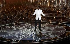 Host Chris Rock opens the show at the 88th Academy Awards in Hollywood, California February 28, 2016.  REUTERS/Mario Anzuoni
