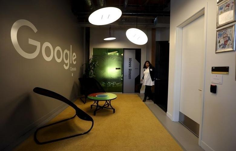 Google's new Canadian engineering headquarters in Kitchener-Waterloo, Ontario January 14, 2016. REUTERS/Peter Power