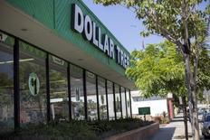 An exterior view of a Dollar Tree store is seen in Pasadena, California August 31, 2015. REUTERS/Mario Anzuoni