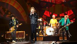 Rolling Stones fazem show em São Paulo. 27/2/2016.  REUTERS/Paulo Whitaker