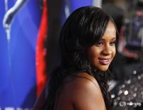 Bobbi Kristina Brown durante evento em Hollywood. 16/8/2012. REUTERS/Fred Prouser