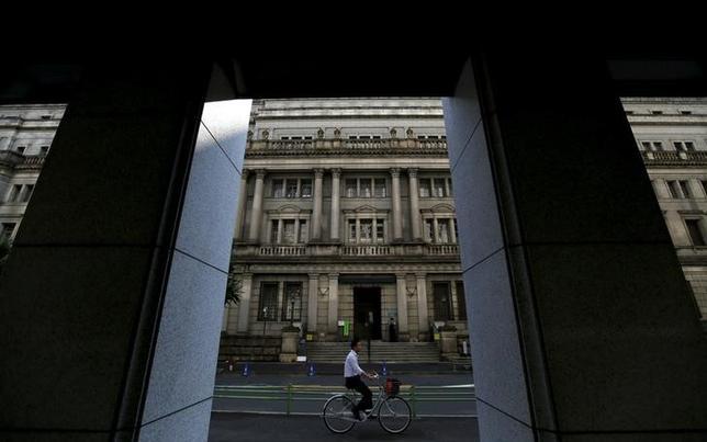 3月4日、河村健夫衆議院議院運営委員長は、6月末に任期が切れる石田浩二日銀審議委員の後任について、新生銀行執行役員の政井貴子氏は候補の1人かとの記者団の質問に「私はそう受け止めている」と述べた。写真は都内で昨年6月撮影(2016年 ロイター/Toru Hanai)