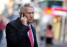 Chief Executive Officer, Chairman, and Co-founder of Chesapeake Energy Corporation Aubrey McClendon walks through the French Quarter in New Orleans, Louisiana in this file photo dated March 26, 2012. REUTERS/Sean Gardner
