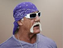 Ex-lutador Hulk Hogan durante evento em Los Angeles.    07/06/2011   REUTERS/Danny Moloshok