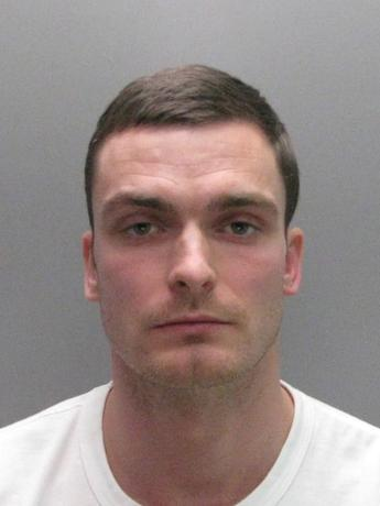 Former Sunderland soccer player Adam Johnson is seen in this undated handout photograph released by Durham Constabulary in Britain on March 2, 2016.  REUTERS/Durham Constabulary/Handout via Reuters