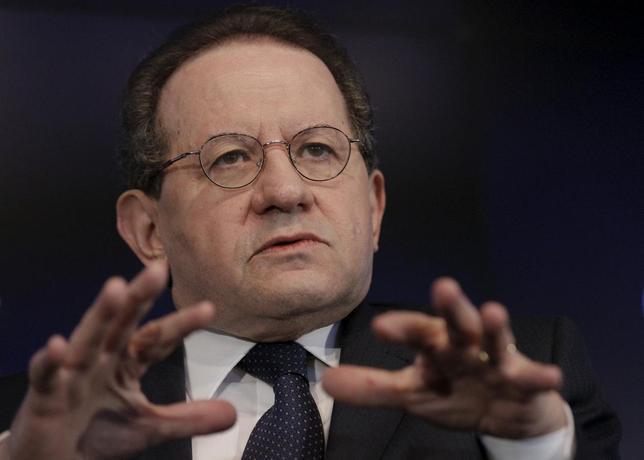 3月11日、ECBのコンスタンシオ副総裁(写真)は、ECBのマイナス金利は限界に直面しているとの見解を示した。米ニューヨークで2月撮影(2016年 ロイター/Brendan McDermid)