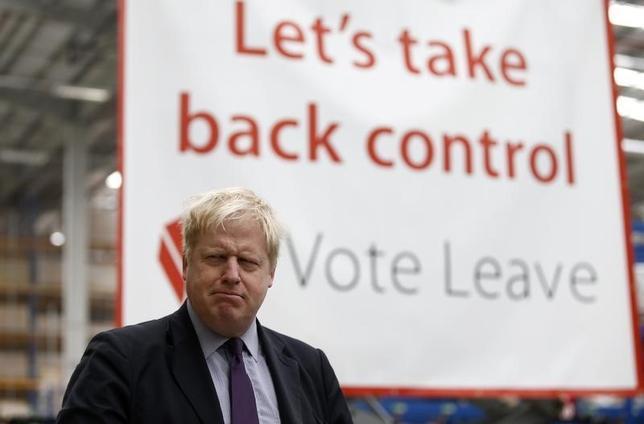 3月11日、ロンドン市長、英国がEUを離脱すればポンドは恩恵を受けると発言(2016年 ロイター/Peter Nicholls)