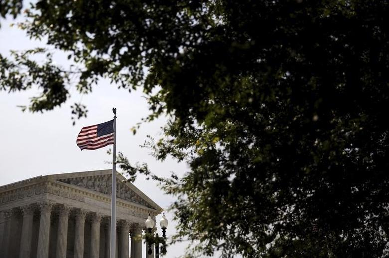 A general view of the U.S. Supreme Court building in Washington June 8, 2015. REUTERS/Carlos Barria
