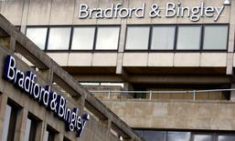 A branch of Bradford & Bingley is seen in Bingley, northern England, September 29, 2008. REUTERS/Phil Noble