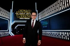 "Director J.J. Abrams arrives at the premiere of ""Star Wars: The Force Awakens"" in Hollywood, California in this December 14, 2015 file photo. REUTERS/Mario Anzuoni/Files"