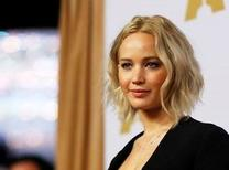 Actress Jennifer Lawrence arrives at the 88th Academy Awards nominees luncheon in Beverly Hills, California in this February 8, 2016, file photo. Ryan Collins, a Pennsylvania man, has agreed to plead guilty to a felony computer hacking charge after authorities said he illegally accessed private phone and email accounts of celebrities such as Oscar-winning actress Jennifer Lawrence to leak information including nude pictures. REUTERS/Mario Anzuoni/Files