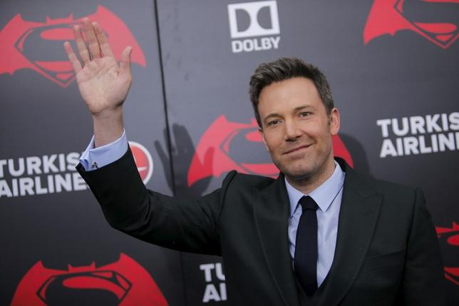 Cast member Ben Affleck attends the New York premiere of ''Batman V Superman: Dawn Of Justice'' at Radio City Music Hall in New York, March 20, 2016. REUTERS/Eduardo Munoz