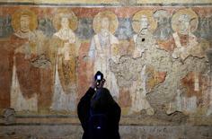Interior da igreja Santa Maria Antiqua, em Roma.    17/03/2016      REUTERS/Max Rossi