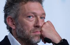 "Cast member Vincent Cassel attends a news conference for the film ""Mon roi"" in competition at the 68th Cannes Film Festival in Cannes, southern France, May 17, 2015. REUTERS/Yves Herman"