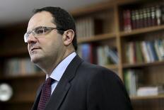 Ministro Nelson Barbosa em entrevista em Brasília. 9 de março de 2016. REUTERS/Ueslei Marcelino