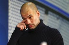 Guardiola durantre entrevista em Munique  15/03/16  REUTERS/Michael Dalder