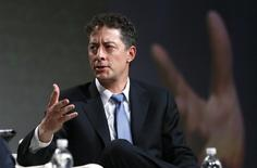 Jeff Smith, CEO and chief investment officer of Starboard Value, L.P., speaks at a panel discussion at the SALT conference in Las Vegas May 14, 2014.  REUTERS/Rick Wilking