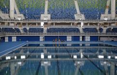 Parque aquático dos Jogos Olímpicos Rio 2016 no Rio de Janeiro. 04/04/2016 REUTERS/Ricardo Moraes