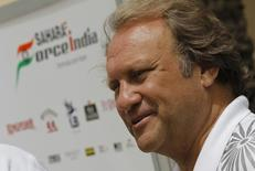 Force India Formula One team's deputy principal Bob Fernley is seen at the Bahrain International Circuit in Sakhir, south of Manama April 20, 2012.  REUTERS/Hamad I Mohammed