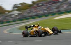 Formula One -  Australia Grand Prix - Melbourne, Australia - 19/03/16 - Renault F1 driver Jolyon Palmer during qualifying at the Australian Formula One Grand Prix in Melbourne.   REUTERS/Jason Reed