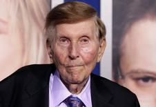 """File photo of Viacom Inc controlling shareholder Sumner Redstone arriving at the premiere of """"The Guilt Trip"""" starring Barbra Streisand and Seth Rogen in Los Angeles December 11, 2012.  REUTERS/Fred Prouser"""