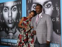 "Cast members Kerry Washington and Wendell Pierce pose at the premiere for the television movie ""Confirmation"" in Los Angeles, California, in this file photo taken March 31, 2016.   REUTERS/Mario Anzuoni/Files"