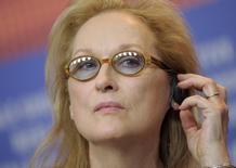 Atriz ganhadora do Oscar Meryl Streep durante evento em Berlim.     11/02/2016      REUTERS/Stefanie Loos -