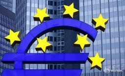 El logo del euro afuera de la sede del Banco Central Europeo, en Fráncfort, Alemania. 19 de enero de 2016. Las principales instituciones económicas de Alemania salieron el jueves en defensa del Banco Central Europeo, al indicar que era inapropiado que el Gobierno critique el BCE y que en lugar de ello debería concentrarse en su propio rol de fomento al crecimiento. REUTERS/Kai Pfaffenbach